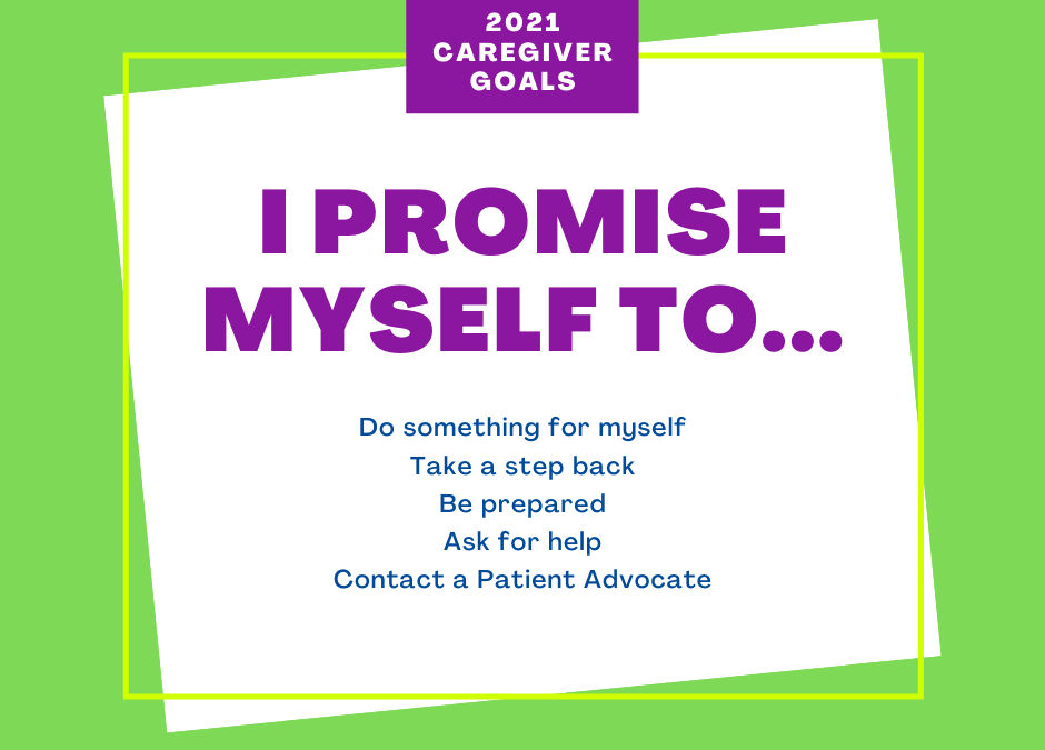 Five New Year's Resolutions for Caregivers
