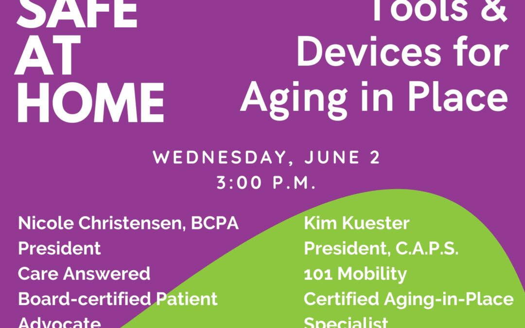 Safe at Home: Tools & Devices for Aging in Place